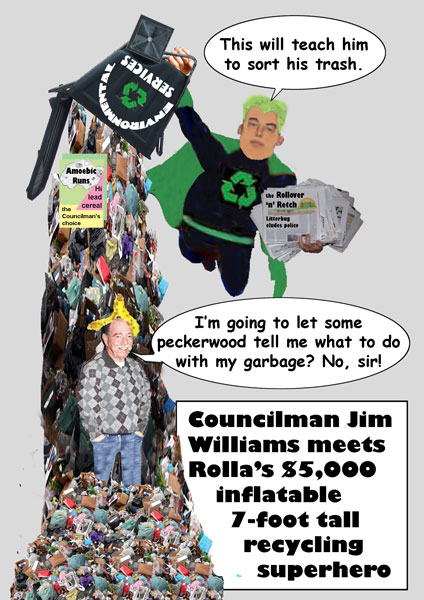 Rolla RecycleCartoon