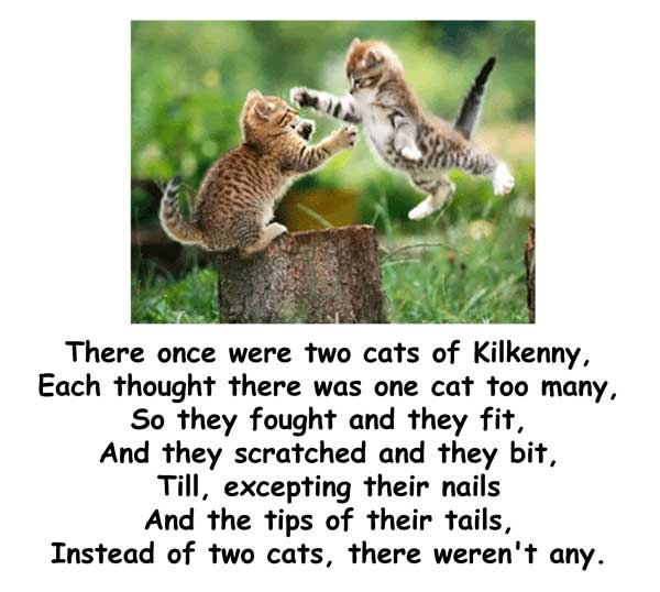 Two Cats of Kilkenny
