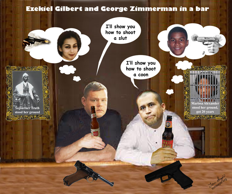 Zimmerman / Gilbert in Bar